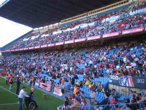 Vicente Calderon main stand - Atletico Madrid photos gallery