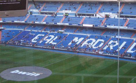 Real madrid stadium lower west side