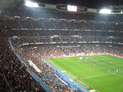 Real Madrid Fondo Sur (South end)