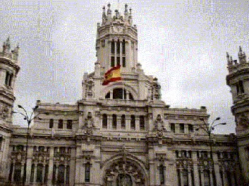 Madrid post office, madrid monuments