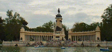 Retiro Park, Madrid monuments, Spain