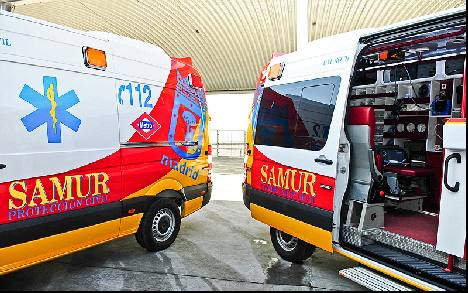 SAMUR are Madrids first responders