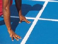 Athletics start position