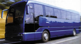 Modern coaches operate throughout Spain