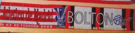 Atletico Madrid scarf