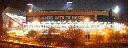 Calderon at Night Madrid