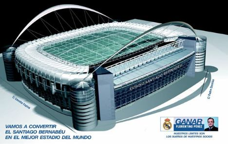 New real madrid stadium developments