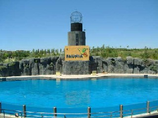 Faunia Madrid activity pool