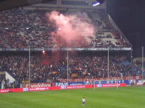 Atletico Madrid Ultras and their toys