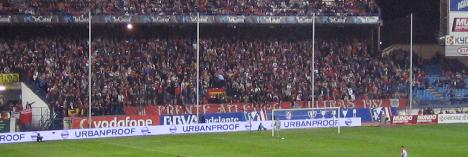 Frente Atletico ready to greet the teams
