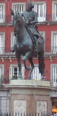 Alfonso XII statue Madrid