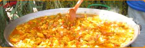 A typical Paella