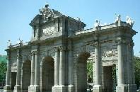 Puerta Alcala, Madrid monuments, Spain