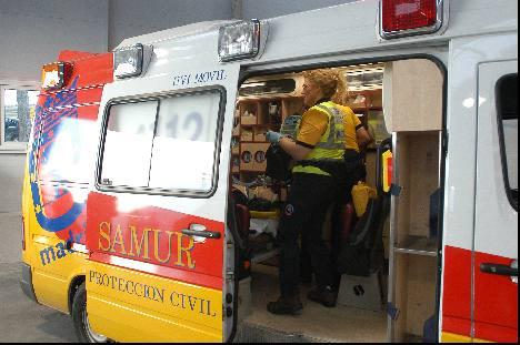 Ambulance Madrid