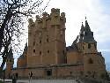 Segovia turreted castle