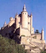 Segovia palace castle