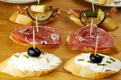 tapas in spain typical madrid tapa