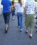 walking in madrid