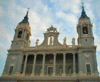 Madrid cathedral, la Almudena
