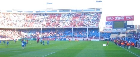 Vicente Calderon southern end