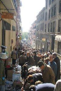 La Latinas narrow streets