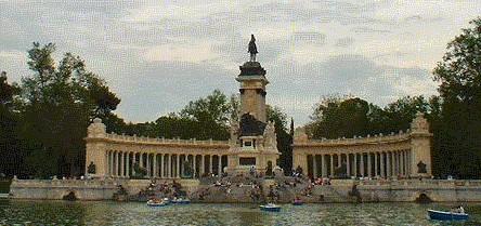 Retiro Park, Madrid monuments, Spain