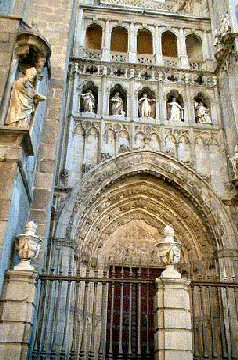 Toledo ancient Cathedral