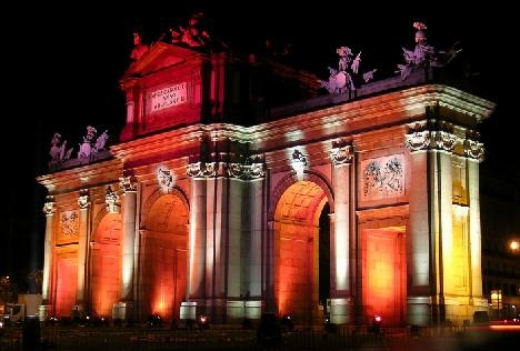 Puerta Alcala Madrid - One of the sights to see
