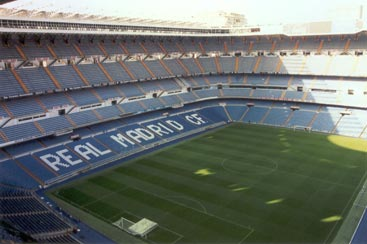 real Madrid Stadium Tiers
