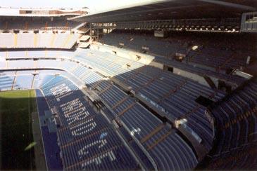 Real madrid Stadium west side