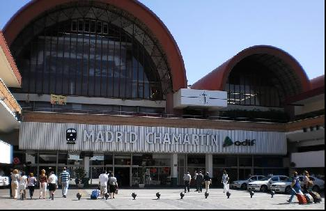 Madrid Chamartin train station