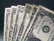 dollar bills fan