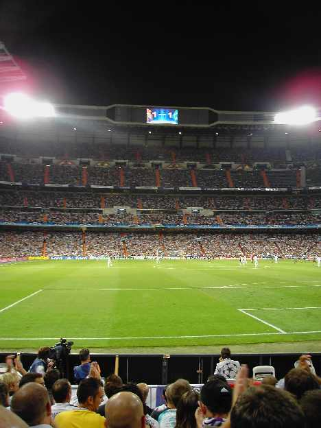 Real Madrid photos - Inside Real Madrids Stadium