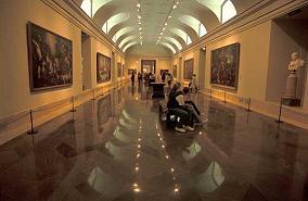 Inside the Museo del prado