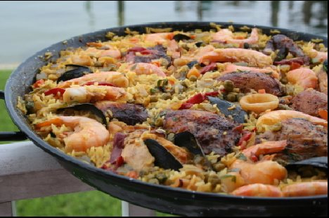 Home cooked Paella in Madrid