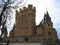 Segovia turreted castle