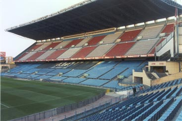 Atletico Madrid Main stand