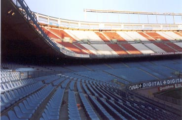 Atletico Madrid Stadion away Fans