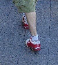 Madrid walking