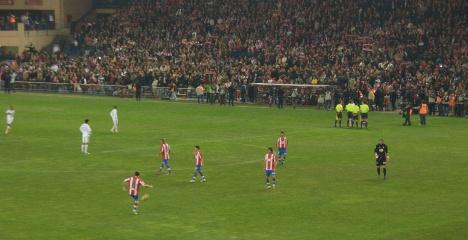 Madrid derby kicks off